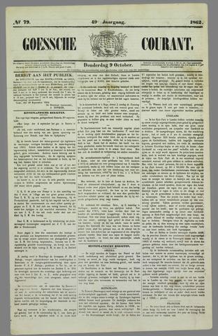 Goessche Courant 1862-10-09