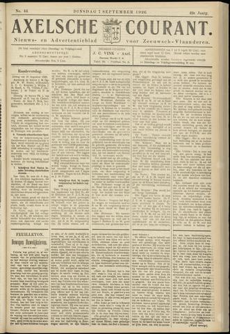 Axelsche Courant 1926-09-07