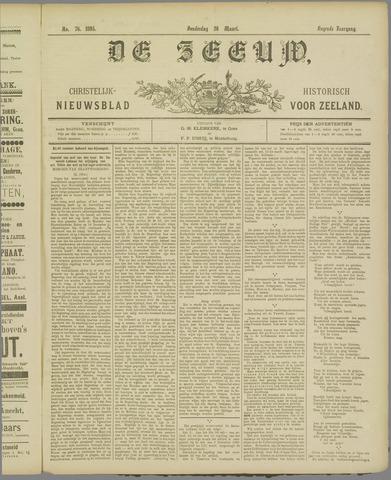 De Zeeuw. Christelijk-historisch nieuwsblad voor Zeeland 1895-03-28