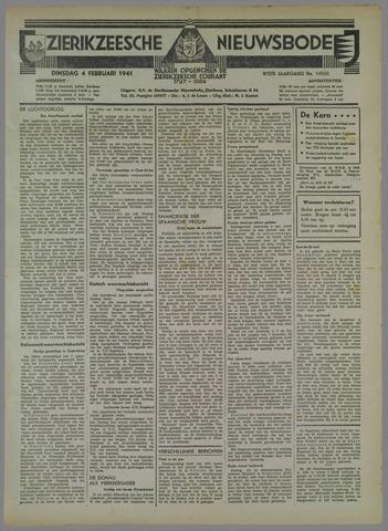 Zierikzeesche Nieuwsbode 1941-02-04
