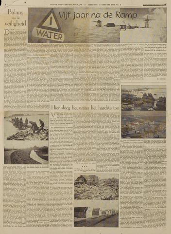 Watersnood documentatie 1953 - kranten 1958-02-01