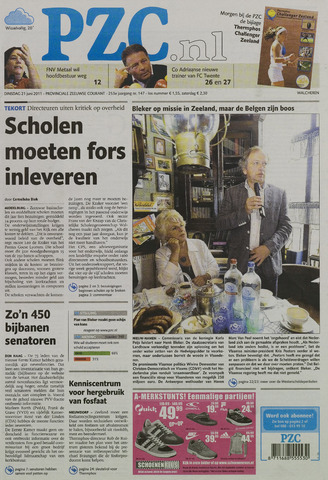 Provinciale Zeeuwse Courant 2011-06-21