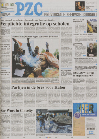 Provinciale Zeeuwse Courant 2005-05-18