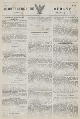 Middelburgsche Courant 1853-02-17