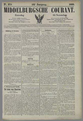 Middelburgsche Courant 1888-11-24