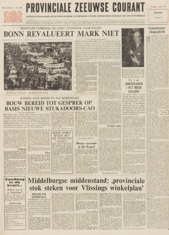 Provinciale Zeeuwse Courant 1971-05-07