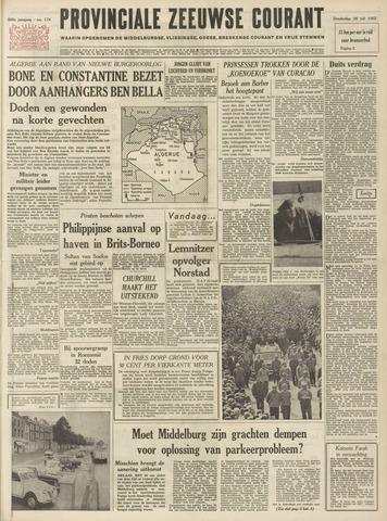 Provinciale Zeeuwse Courant 1962-07-26