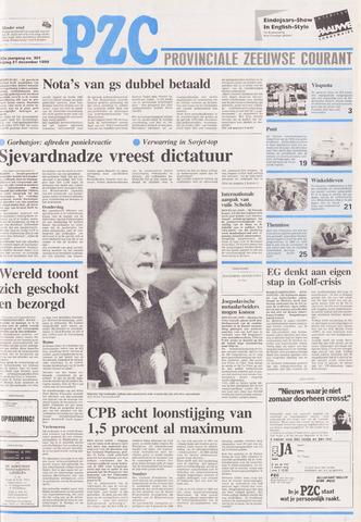 Provinciale Zeeuwse Courant 1990-12-21