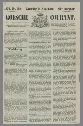 Goessche Courant 1874-11-14