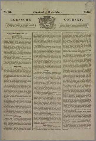 Goessche Courant 1845-10-09