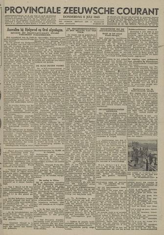Provinciale Zeeuwse Courant 1943-07-08