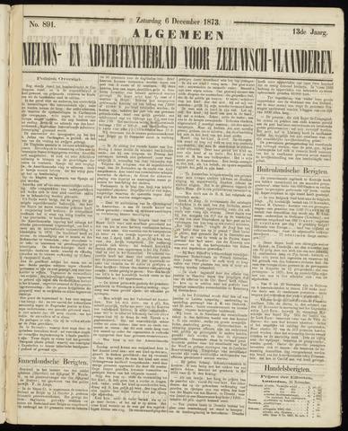 Ter Neuzensche Courant. Algemeen Nieuws- en Advertentieblad voor Zeeuwsch-Vlaanderen / Neuzensche Courant ... (idem) / (Algemeen) nieuws en advertentieblad voor Zeeuwsch-Vlaanderen 1873-12-06