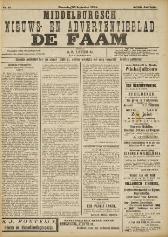 de Faam en de Faam/de Vlissinger 1904-09-28