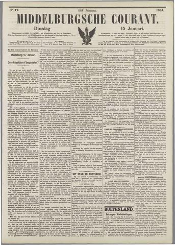 Middelburgsche Courant 1901-01-15