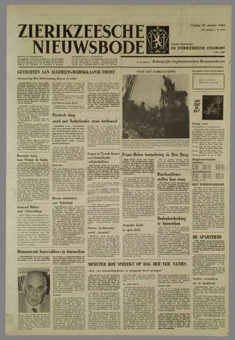 Zierikzeesche Nieuwsbode 1963-10-25