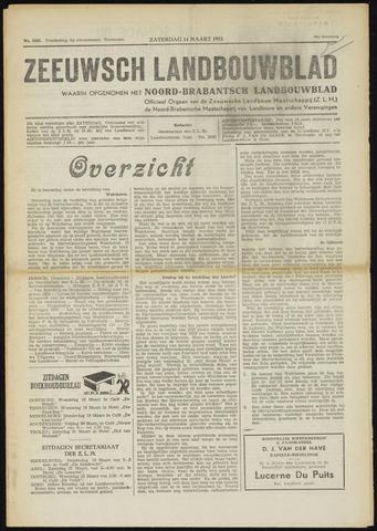 Zeeuwsch landbouwblad ... ZLM land- en tuinbouwblad 1953-03-14