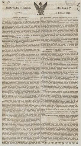 Middelburgsche Courant 1829-02-21