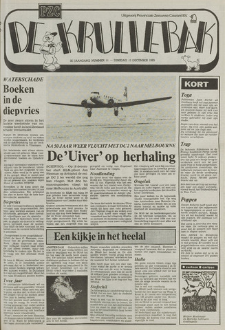 Provinciale Zeeuwse Courant katern Krullenbak (1981-1999) 1983-12-13