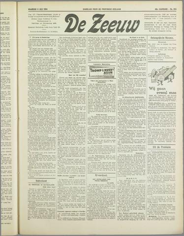 De Zeeuw. Christelijk-historisch nieuwsblad voor Zeeland 1934-07-09