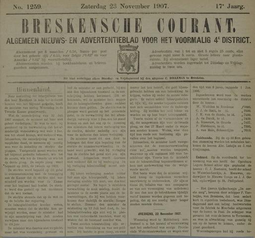 Breskensche Courant 1907-11-23