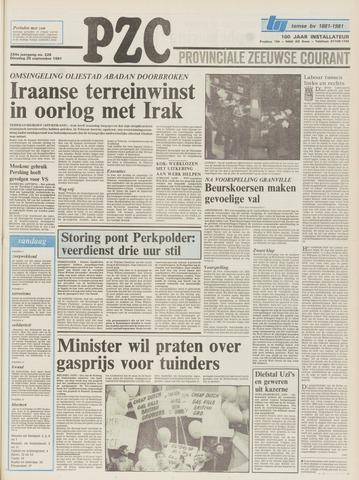 Provinciale Zeeuwse Courant 1981-09-29