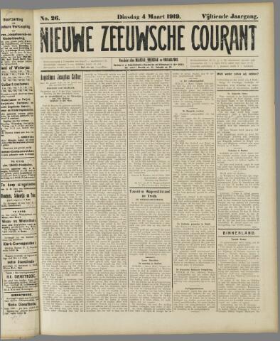 Nieuwe Zeeuwsche Courant 1919-03-04