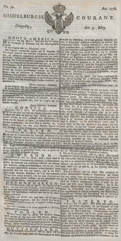 Middelburgsche Courant 1778-05-05