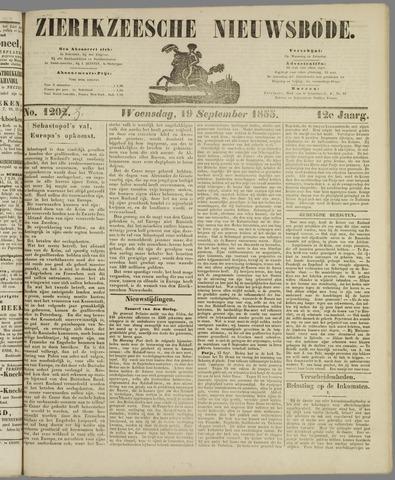 Zierikzeesche Nieuwsbode 1855-09-19