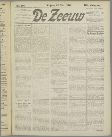 De Zeeuw. Christelijk-historisch nieuwsblad voor Zeeland 1916-05-12