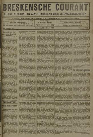 Breskensche Courant 1922-02-22