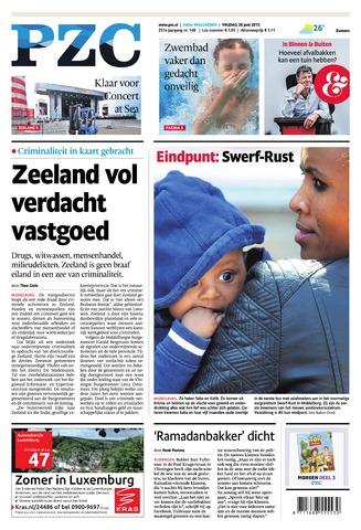 Provinciale Zeeuwse Courant 2015-06-26
