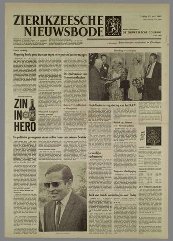 Zierikzeesche Nieuwsbode 1965-06-25