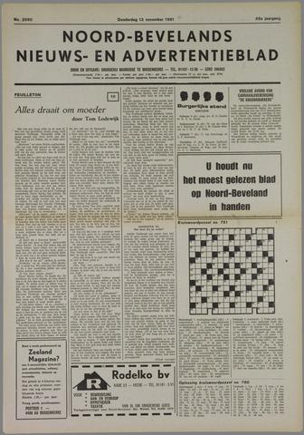 Noord-Bevelands Nieuws- en advertentieblad 1981-11-12