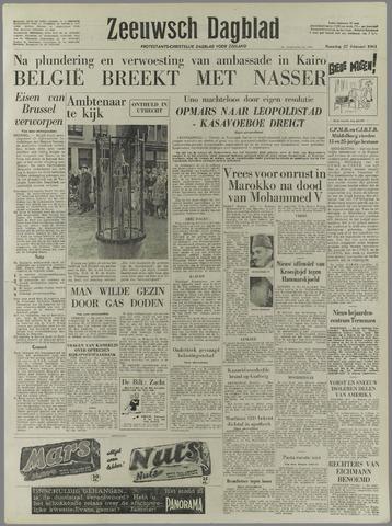 Zeeuwsch Dagblad 1961-02-27
