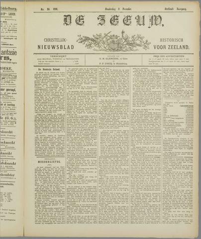 De Zeeuw. Christelijk-historisch nieuwsblad voor Zeeland 1898-12-08