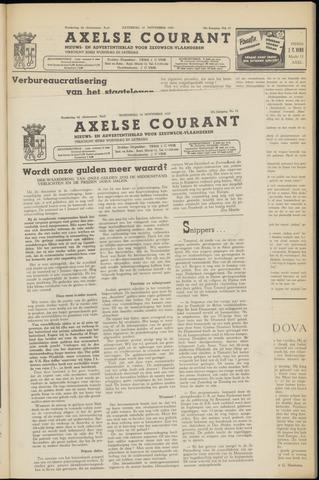 Axelsche Courant 1953-11-18