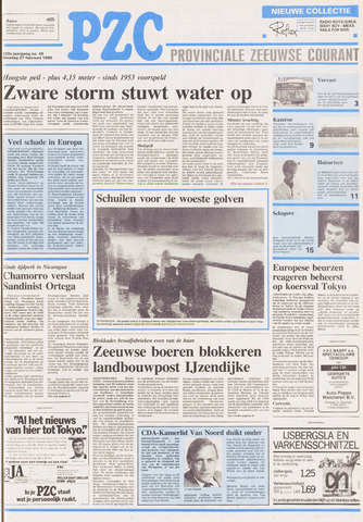 Provinciale Zeeuwse Courant 1990-02-27