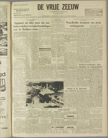 de Vrije Zeeuw 1961-09-28