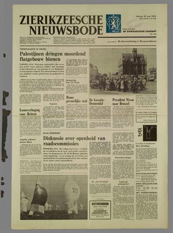 Zierikzeesche Nieuwsbode 1974-06-25