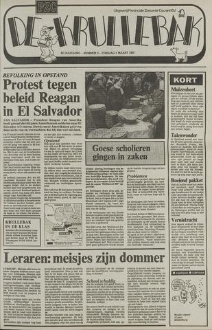 Provinciale Zeeuwse Courant katern Krullenbak (1981-1999) 1982-03-09
