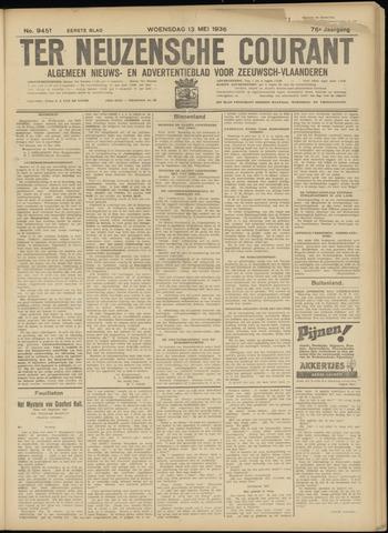 Ter Neuzensche Courant. Algemeen Nieuws- en Advertentieblad voor Zeeuwsch-Vlaanderen / Neuzensche Courant ... (idem) / (Algemeen) nieuws en advertentieblad voor Zeeuwsch-Vlaanderen 1936-05-13