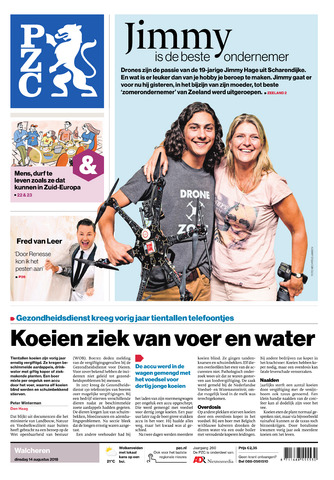 Provinciale Zeeuwse Courant 2018-08-14