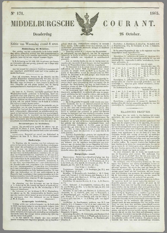 Middelburgsche Courant 1865-10-26