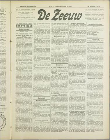 De Zeeuw. Christelijk-historisch nieuwsblad voor Zeeland 1934-12-20