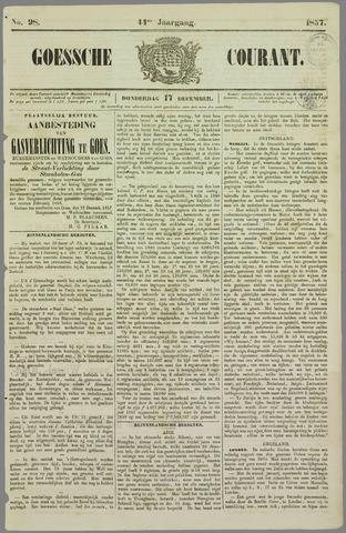 Goessche Courant 1857-12-17