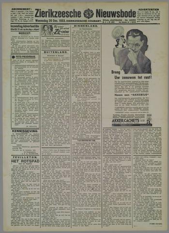 Zierikzeesche Nieuwsbode 1933-12-20