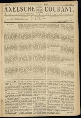 Axelsche Courant 1936-05-26