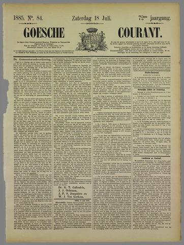Goessche Courant 1885-07-18