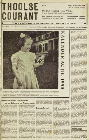 Ierseksche en Thoolsche Courant 1949-11-18