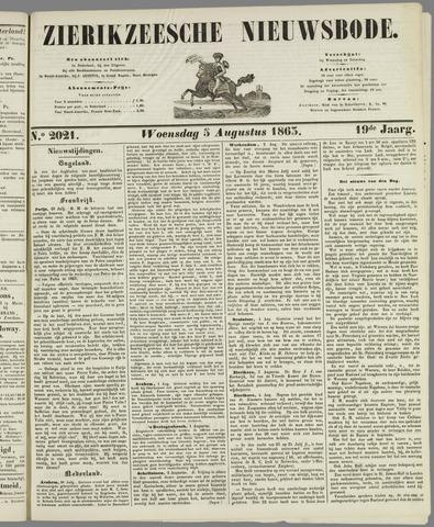 Zierikzeesche Nieuwsbode 1863-08-05